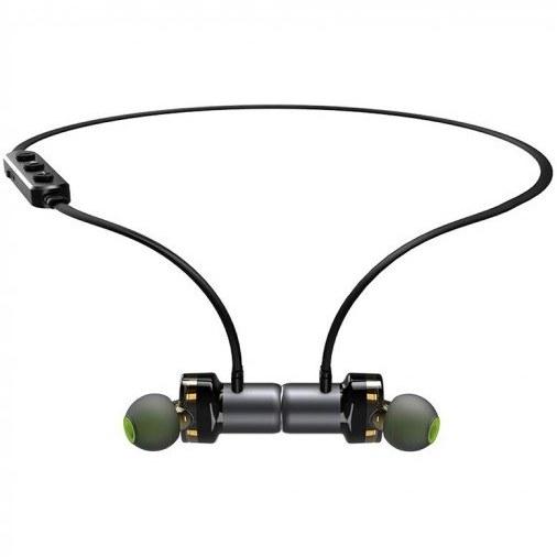 تصویر هندزفری بلوتوث آوی Awei X680BL رنگ مشکی Awei X680BL Bluetooth in-Ear Headphones Black Color