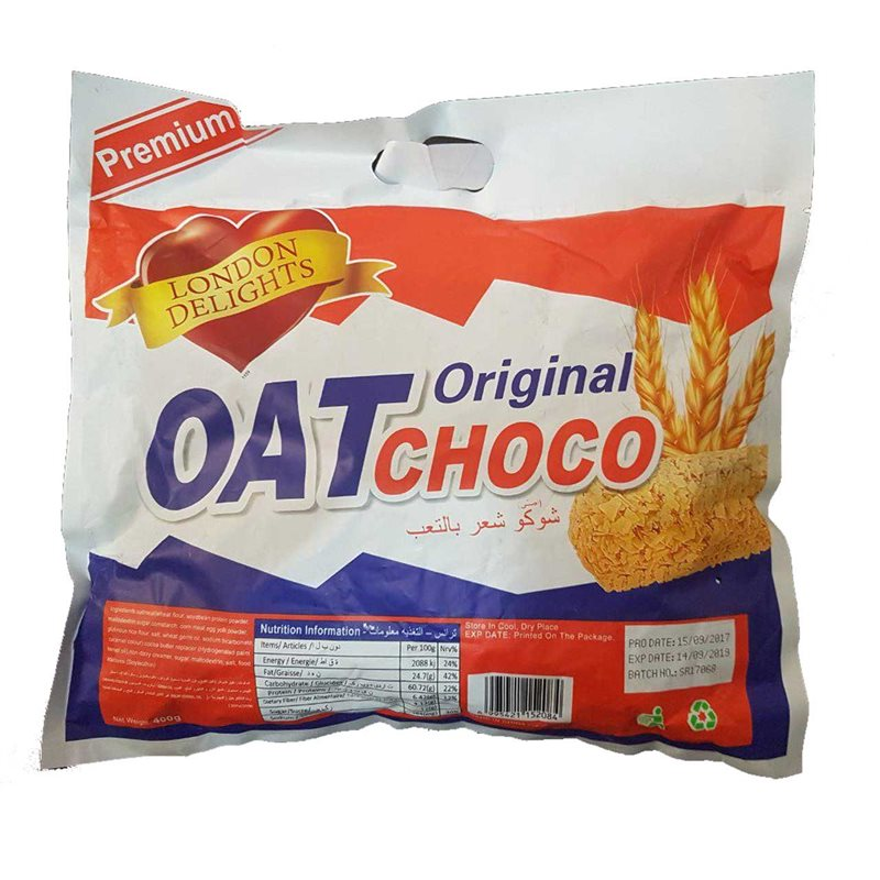 تصویر شکلات غلاتی اوت چوکو OAT CHOCO 400 gr orginal