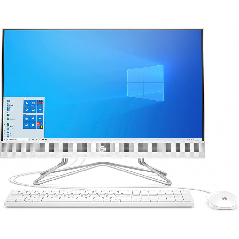 "تصویر HP All-in-One Desktop 22-df0004ne HP All-in-One Desktop 22-df0004ne, 10th Gen Intel Core i5, 21.5"" FHD, 512 GB SSD, 8GB RAM, NVIDIA GeForce MX330 (2GB) Graphics, Windows 10, EN-AR KB, White"