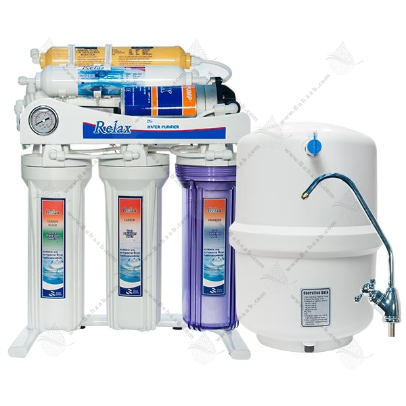 تصویر دستگاه تصفیه آب ریلکس-6 مرحله 6Stage Water Purification Relax