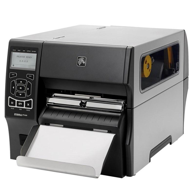 عکس لیبل پرینتر زبرا مدل ZT420 رزولوشن 203 dpi Zebra ZT420 Label Printer With 203 dpi Print Resolution لیبل-پرینتر-زبرا-مدل-zt420-رزولوشن-203-dpi