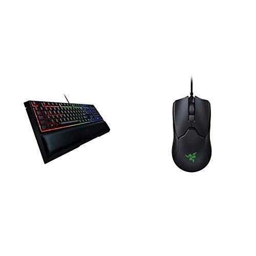 Razer Ornata Chroma Gaming Keyboard + Viper Ultralight Ambidextrous Gaming Mouse Bundle