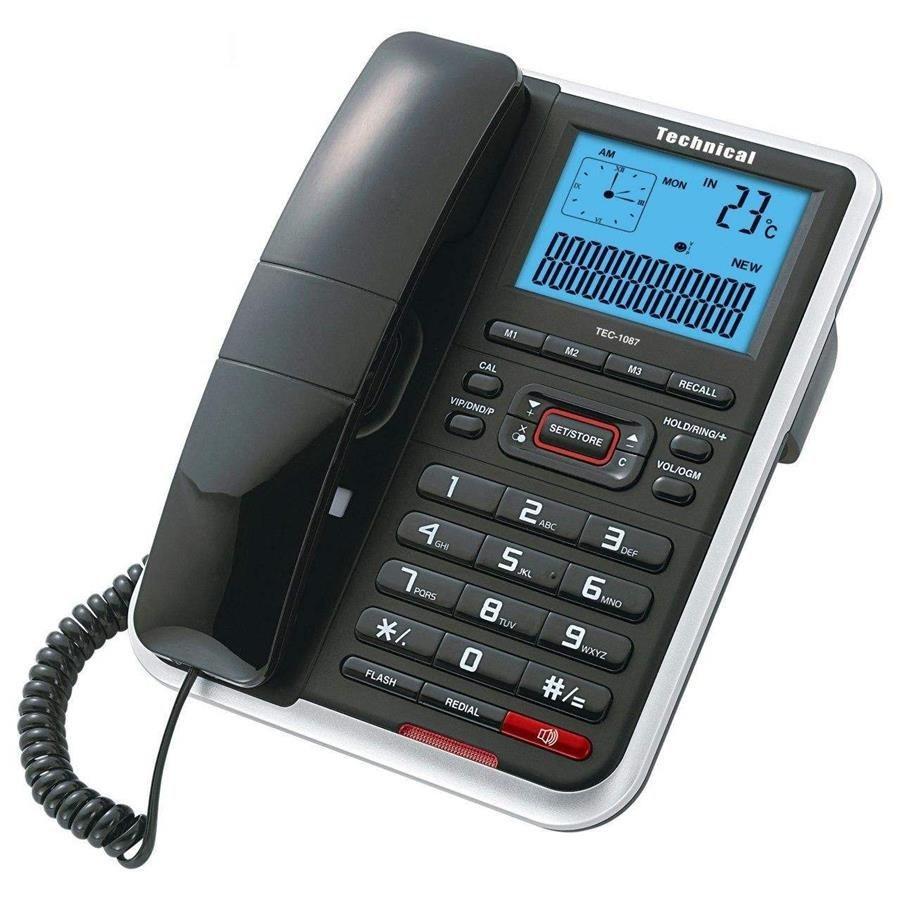 تصویر گوشی تلفن تکنیکال مدل TEC-1087
