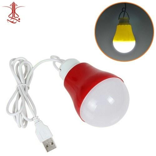 تصویر لامپ USB LED سیار ۵ وات