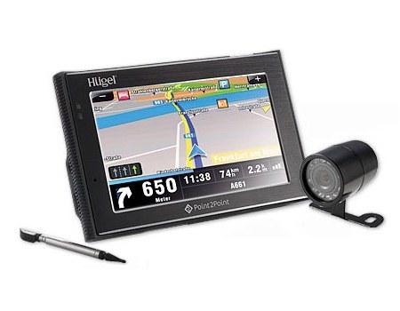 تصویر مسیریاب خودرو هوگل مدل P2P800 Hugel P2P800 GPS