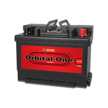 تصویر باتری 74 آمپر اوربیتال وان
