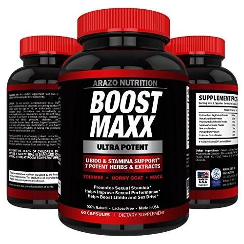 تقویت کننده تستسترون BoostMAXX - افزایش تحریک و میل جنسی - گیاهی - 60 قرص  