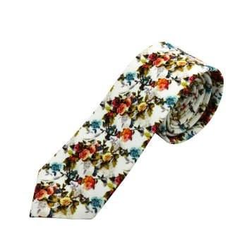 کراوات مردانه طرح گل کد 101