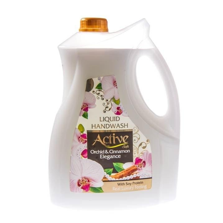 مایع دستشویی سفید صدفی اکتیو ۳.۷۵ لیتری