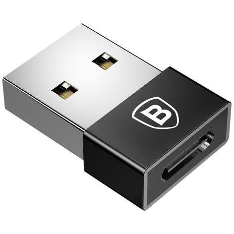 تصویر تبدیل USB به TYPE-C بیسوس Baseus USB Male to Type C Female Cable OTG Adapter