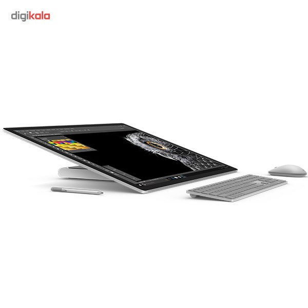 تصویر کامپیوتر همه کاره 28 اینچی مایکروسافت مدل Surface Studio Microsoft Surface Studio 28 inch All-in-One PC