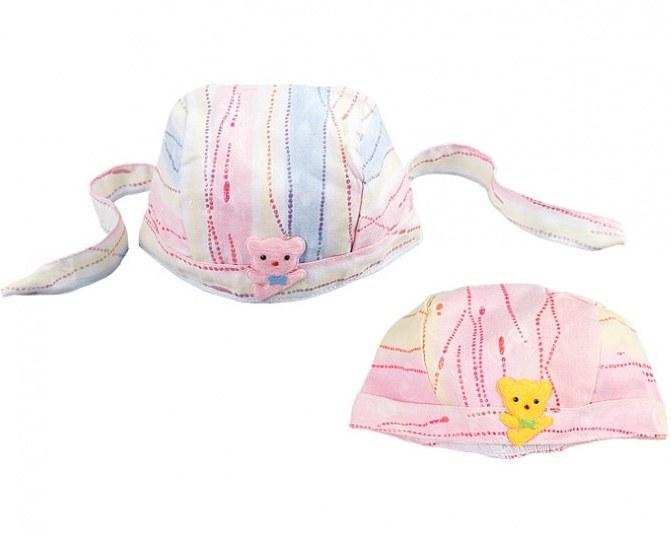 کلاه بنددار نوزادی Bear