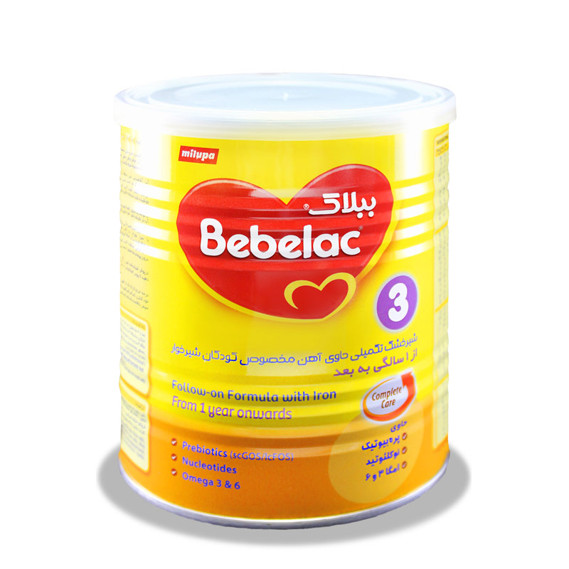 شیرخشک ببلاک ۳ میلوپا Milupa Bebelac 3 Infant Milk  