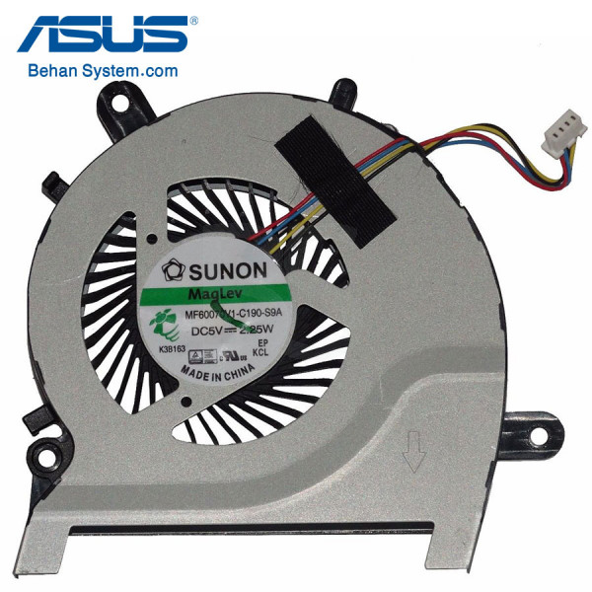 تصویر فن پردازنده لپ تاپ ASUS A451 / A451C / A451M