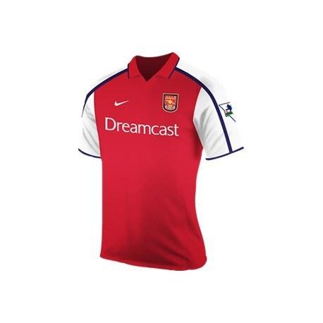 تصویر پیراهن کلاسیک آرسنال Arsenal 2000 Retro Home Kit Jersey