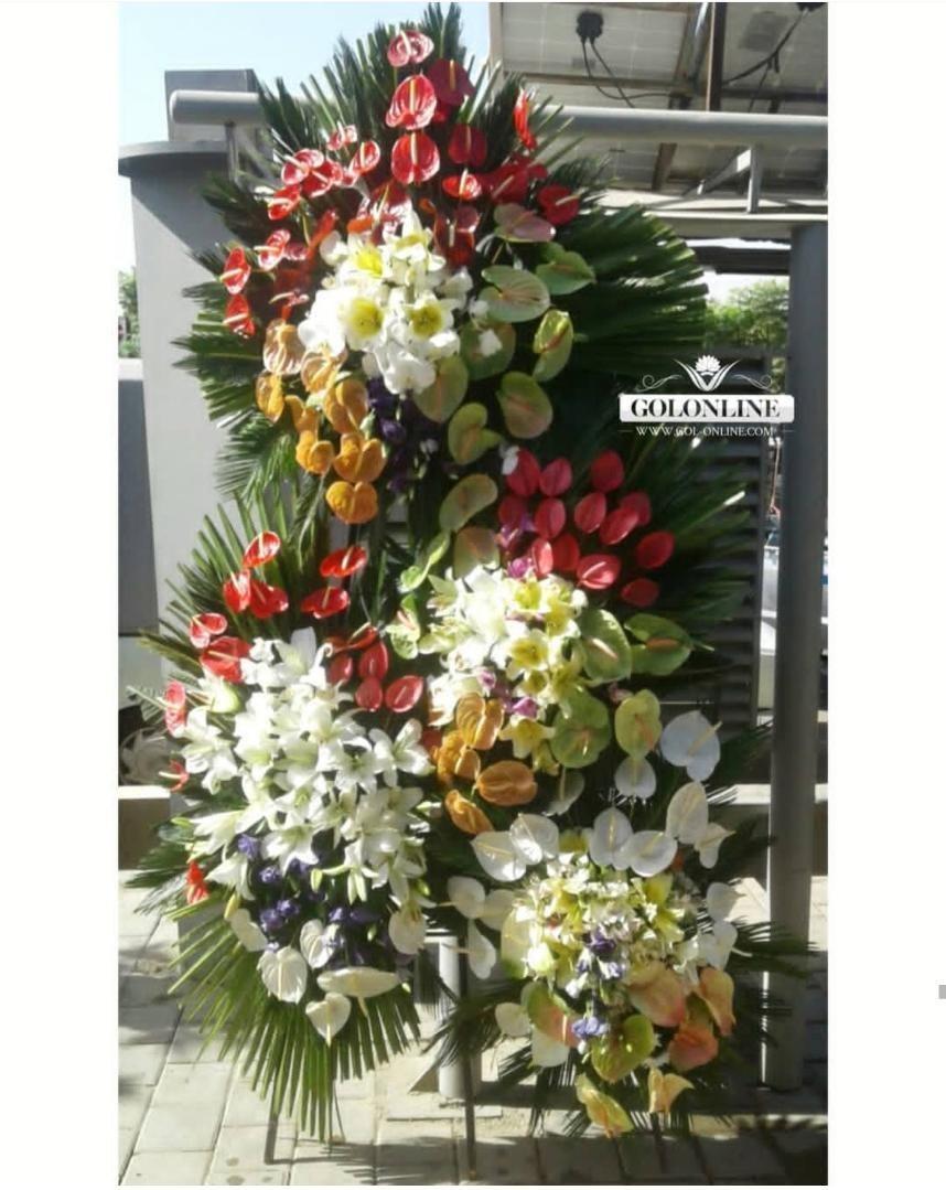 تصویر تاج افتتاحیه / عروسی چهار طبقه