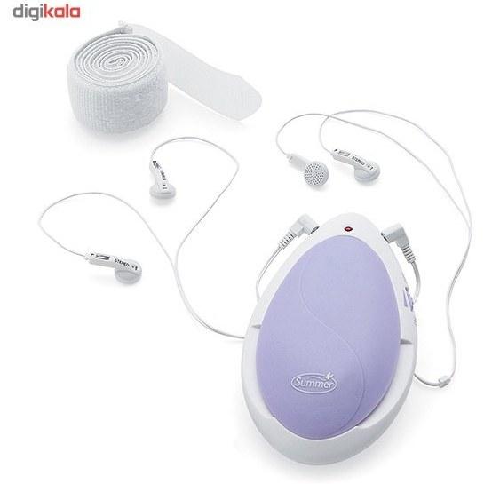 img دستگاه شنود ضربان قلب جنين سامر مدل Heart To Heart Summer Heart To Heart Digital Prenatal Listening System