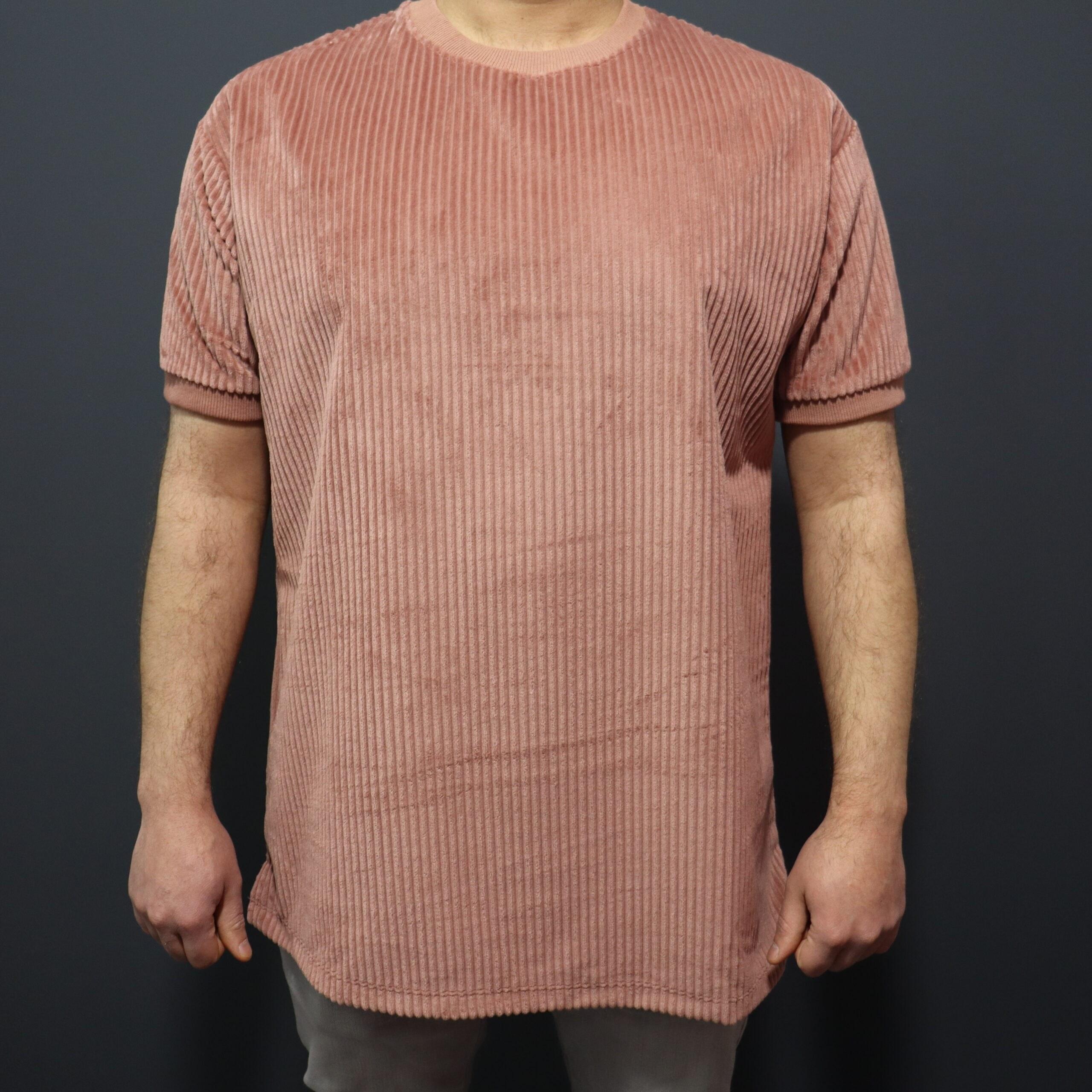 تصویر تیشرت مردانه مخمل کبریتی
