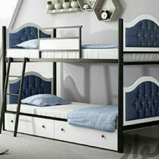 عکس تخت خواب فلزی دوطبقه  تخت-خواب-فلزی-دوطبقه