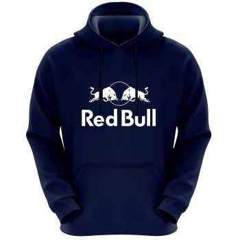 هودی مردانه طرح red bull کد F318 رنگ سرمه ای