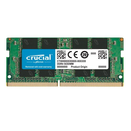 رم لپ تاپ کروشیال ظرفیت 16 گیگابایت فرکانس 2133 مگاهرتز   Crucial 16GB DDR4-17064S SoDimm Notebook RAM Memory Module CT16G4SFD8213