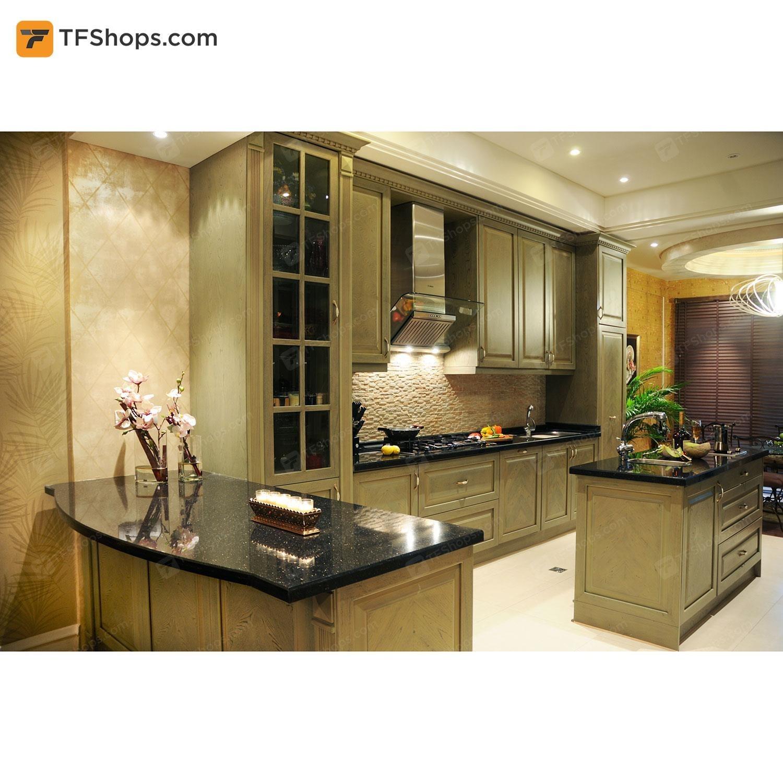 تصویر کابینت آشپزخانه تهران فرم مدل C01 Kitchen Cabinet