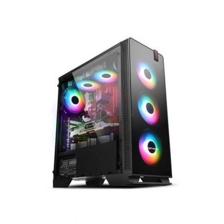 تصویر کامپیوتر گیمینگ مدل IPASON Ryzen 5 3600 6 Core 12 Threads 7nm 3.6Ghz GTX 1660 6G DDR4 2666 8G 240G SSD Gaming
