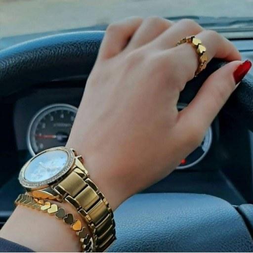 main images ست دستبند و انگشتر حدید