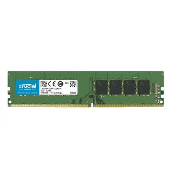 تصویر رم دسکتاپ DDR4 تک کاناله 2666 مگاهرتز کروشیال ظرفیت 8 گیگابایت ا Crucial DDR4 2666MHz Single Channel Desktop RAM - 8GB Crucial DDR4 2666MHz Single Channel Desktop RAM - 8GB