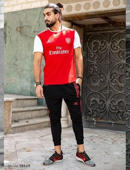 main images ست تیشرت و شلوار مردانه Arsenal مدل 10529