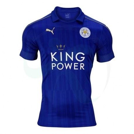 پیراهن اول لسترسیتی Leicester City 2016-17 Home Soccer Jersey