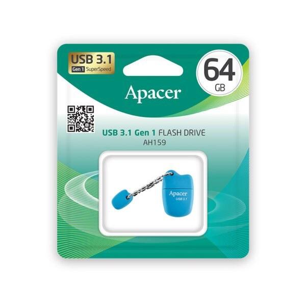 تصویر فلش مموری اپیسر AH159 ظرفیت 32 گیگابایت Apacer AH159 USB 3.1 Flash Memory - 32GB