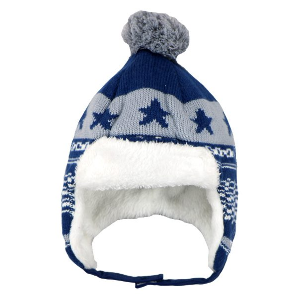 کلاه بافتنی بچه گانه طرح ستاره