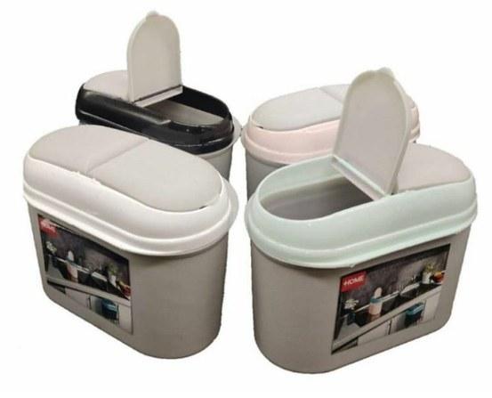 main images سطل زباله ی کابینتی درب دوطرفه