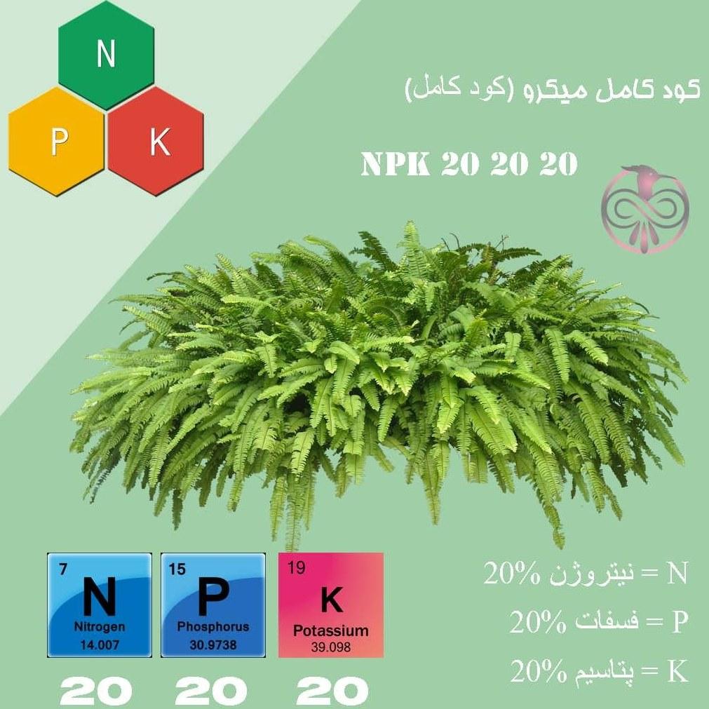 کود NPK 20 20 20 |
