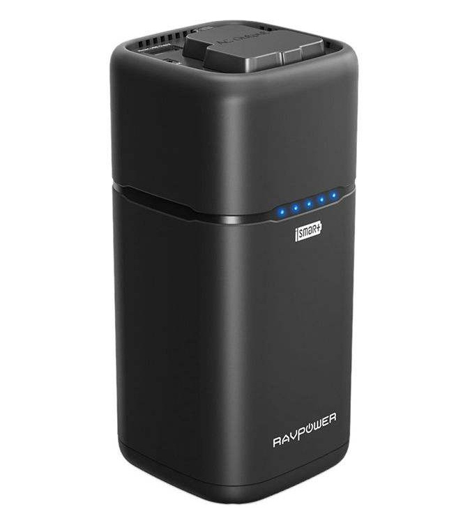 تصویر شارژر همراه راوپاور مدل RP-PB054 ظرفیت 20100 میلی آمپرساعت پاوربانک راو پاور RP-PB054 20100mAh Power Bank