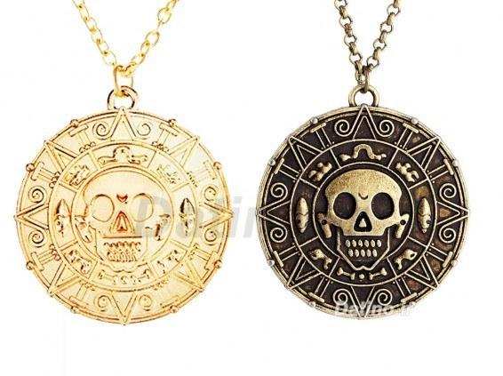 گردنبند دزدان دریایی کارائیب طلای آزتک-Toxic.N.110