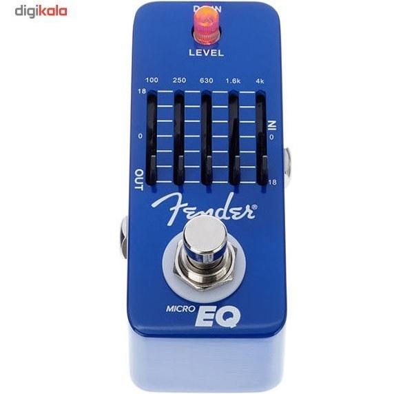 img پدال افکت اکولايزر فندر مدل Micro EQ Fender Micro EQ