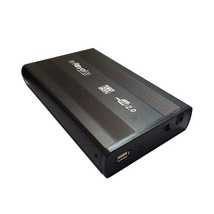 تصویر باکس هارد 3.5 اینچی USB 2.0 مدل ROYAL RH-3520
