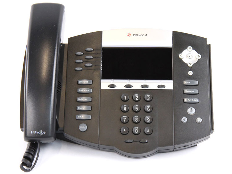 main images Polycom SoundPoint 670 phone تلفن VoIP پلی کام مدل SoundPoint 670 تحت شبکه