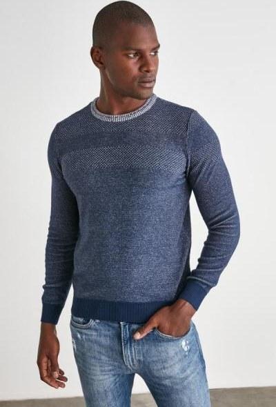 تصویر پلیور مردانه مارک مارک ترندیول مرد رنگ لاجوردی کد ty52880371