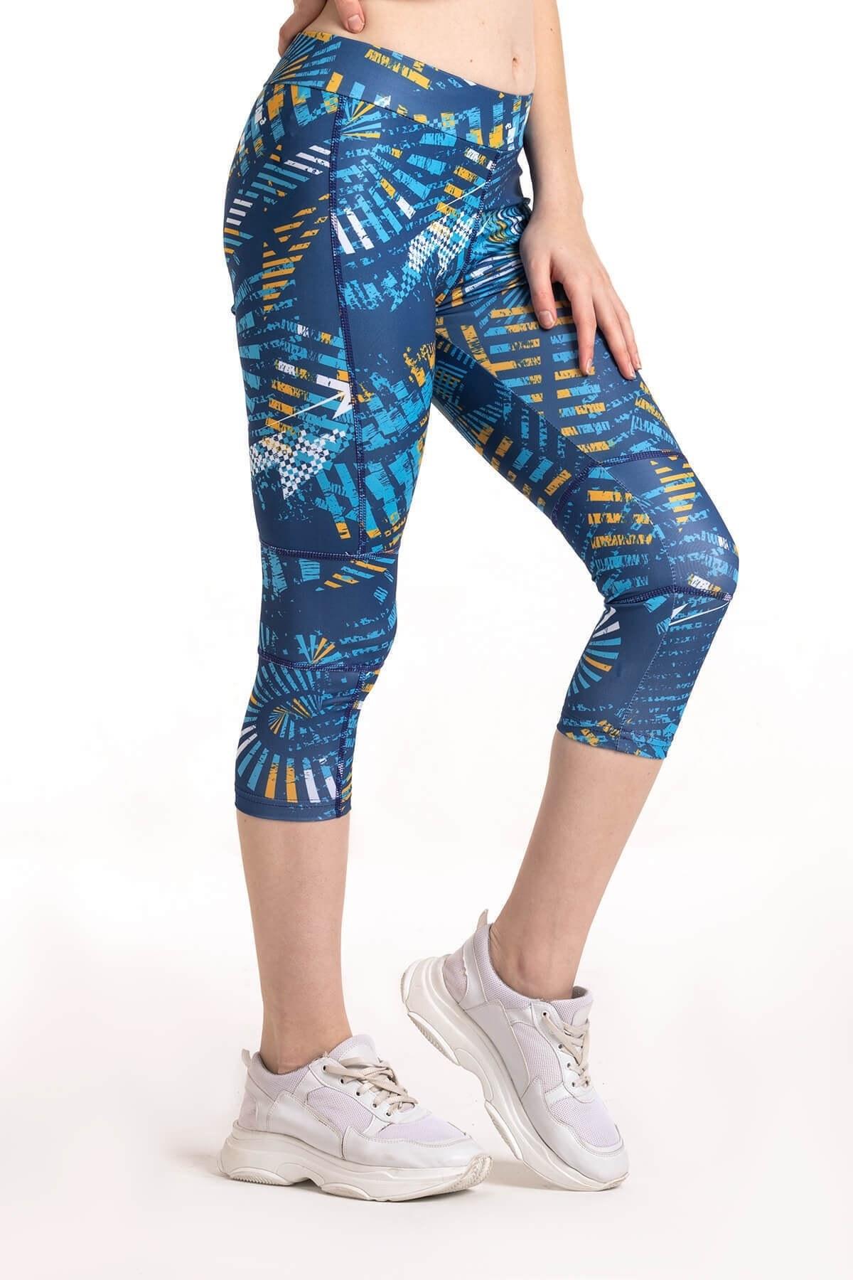 تصویر فروش پلگی لگ ورزشی زنانه شیک جدید برند Mossta رنگ آبی کد ty39896812