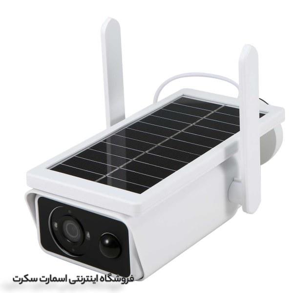 تصویر دوربین مداربسته بالت خورشیدی وایرلس
