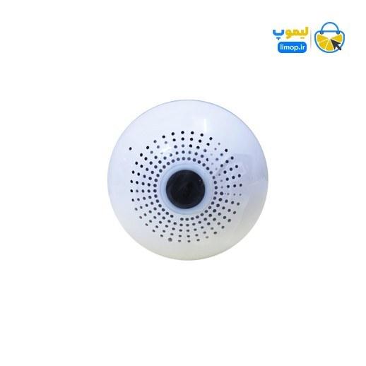 تصویر دوربین لامپی Lamp HD v380 bulb camera IC see