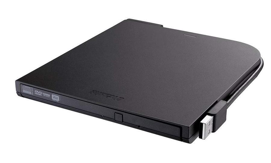 تصویر دی وی دی رایتر اکسترنال بوفالو مدل DVSM PT58U2VB درایو نوری اکسترنال بوفالو DVSM PT58U2VB MediaStation Portable DVD Writer