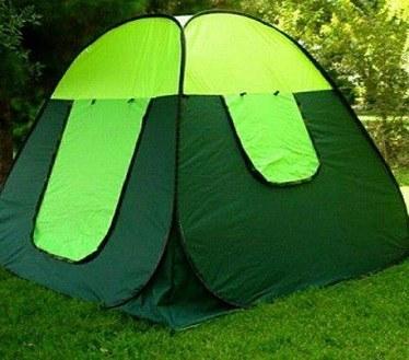 چادر مسافرتی فنری 10 نفره ایرانی سبز |