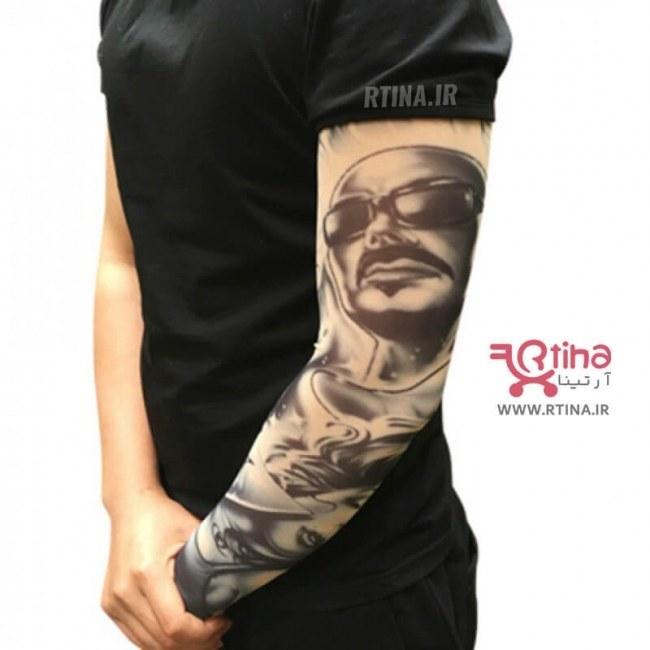 تصویر ساق دست تاتو اسپرت پسرانه مدل BK398