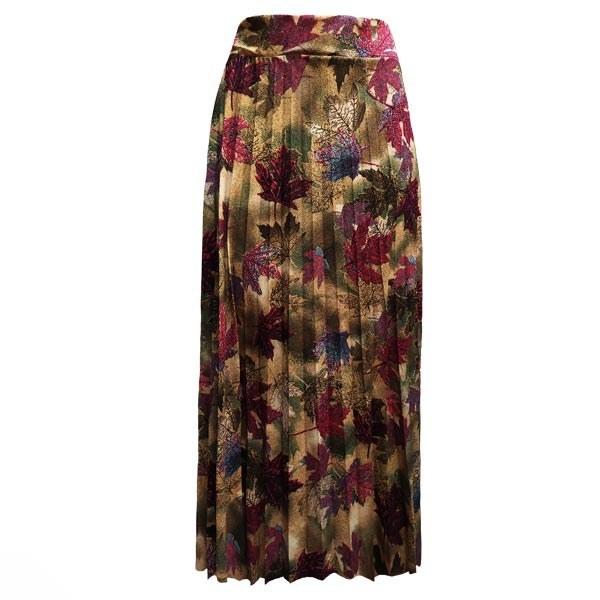 تصویر دامن کرپ گلدار زنانه کد 1102