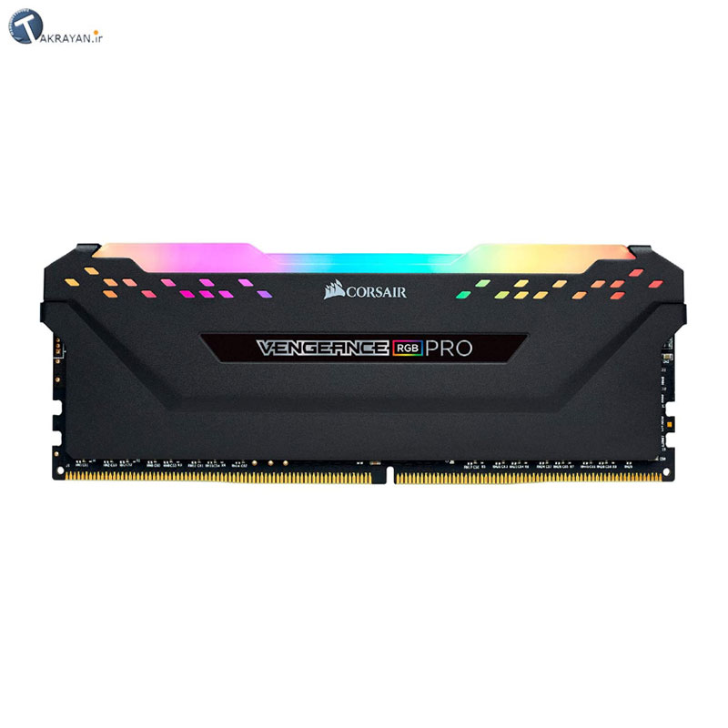 تصویر Corsair Vengeance RGB PRO 16GB (2x8GB) DDR4 3200MHz RAM