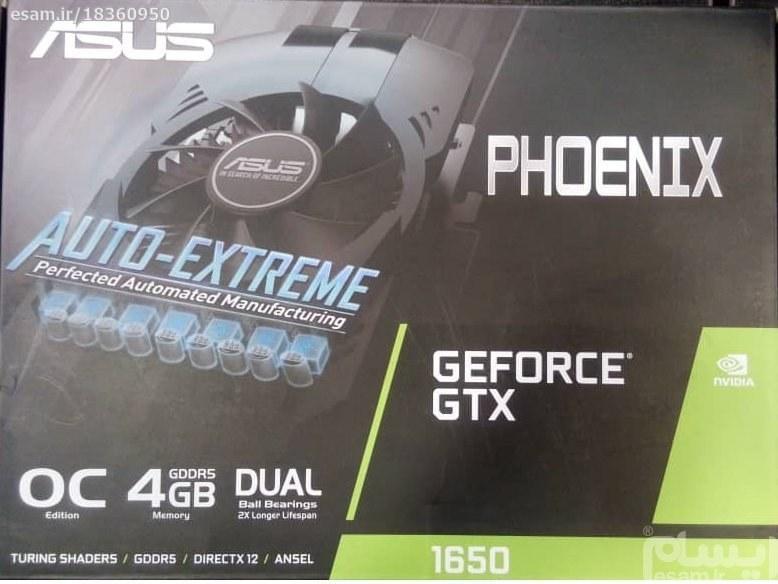 تصویر ASUS PH-GTX1650-O4G Graphics Card